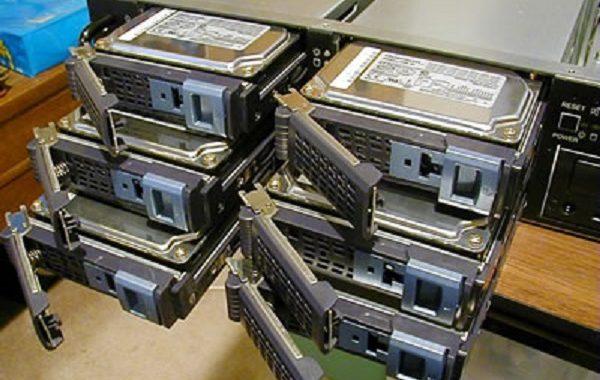 RAID 5 Datenwiederherstellung.